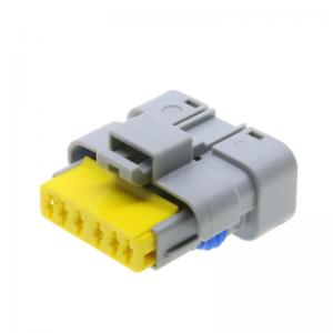 Electric auto connector female connector 6 pin