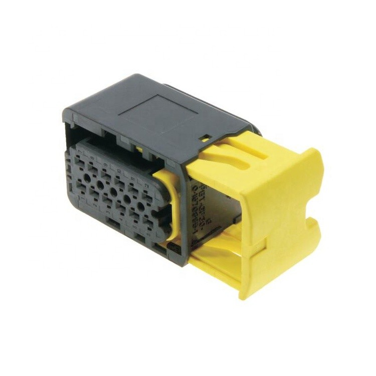 electrical connector pbt gf15 auto connector 3 pin connector